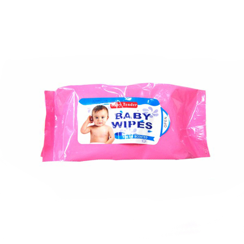 WW458OP Oem Wholesale Free Sample Biodegradable Single Packing Water Soluble Nonwoven Unscented Baby Warmer Wet Wipes Tissue