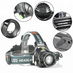 Headlamp 18650 Battery Directly Charge Zoomable Head Torch 1000LM Aluminum Alloy Camping Light