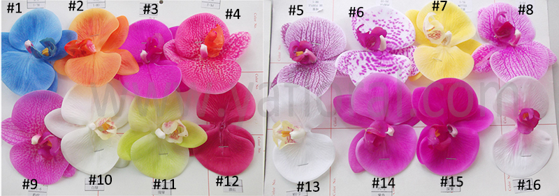 Al Por Mayor De Flores Artificiales Artificial Orquideas Azules