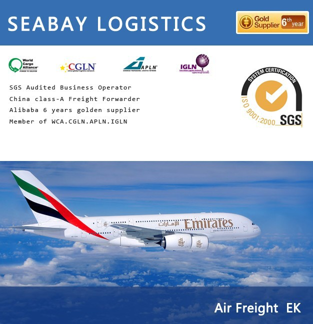 fast reliable air freight china to cape town