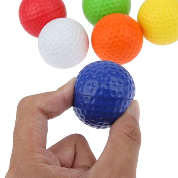 Light PU foam golf balls for indoor outdoor