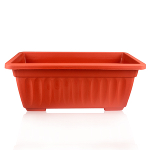rectangular outdoor flower pots pp planters plastic trough