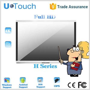 Ultra Thin 8cm 65inch u-touch all in one/smart tv classroom/all in ones