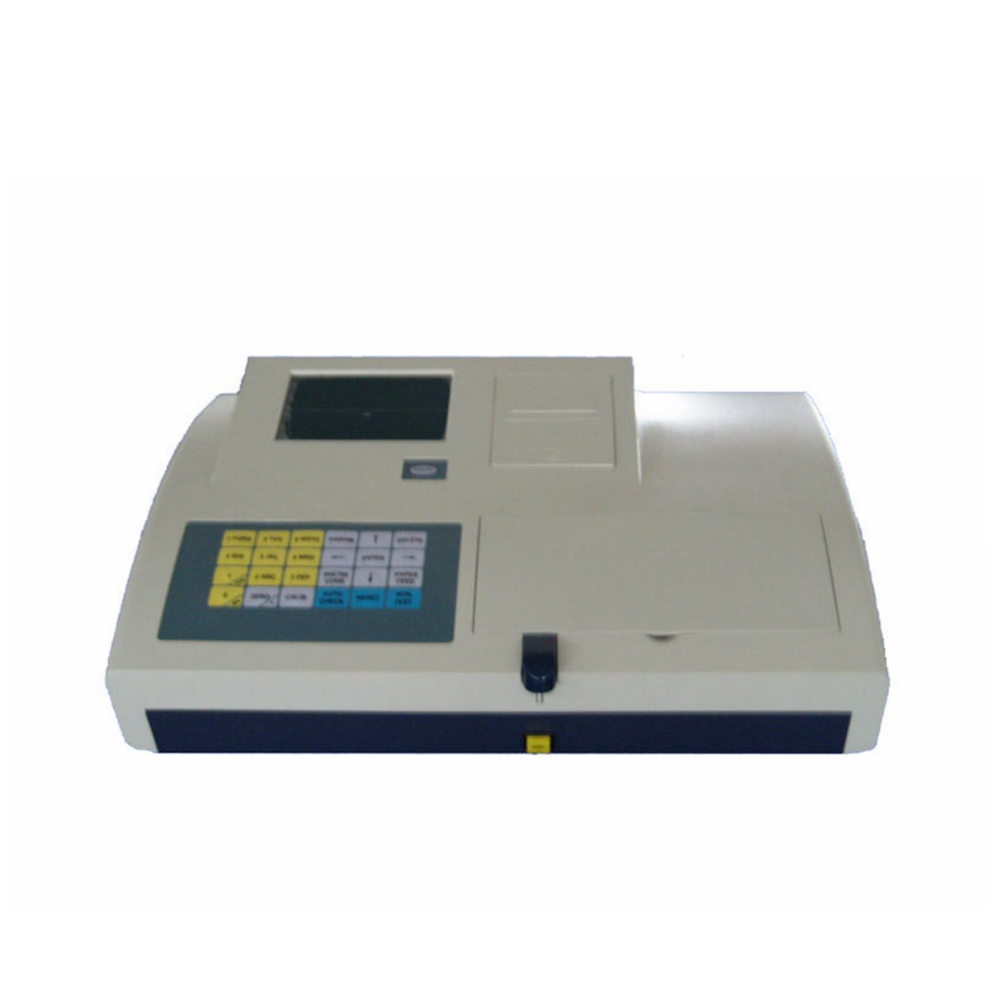 Klinische chemie bloed tests bio chemie analyser/semi auto bloed chemie biochemie analyzer