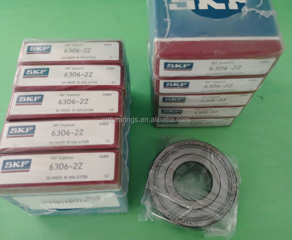 Original Skf แบริ่ง 6306 Deep Groove Ball Bearing SKF 6306ZZ Ball แบริ่ง 6306-2Z