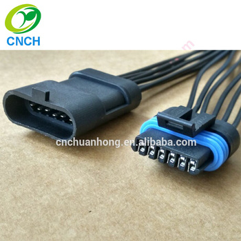 6 pin male connector match gm delphi 12162210 caspers 413017 hot rod Delphi 8 Pin Wiring Harness Connectors 6 pin male connector match gm delphi 12162210 caspers 413017 hot rod wiring harness factory supplier