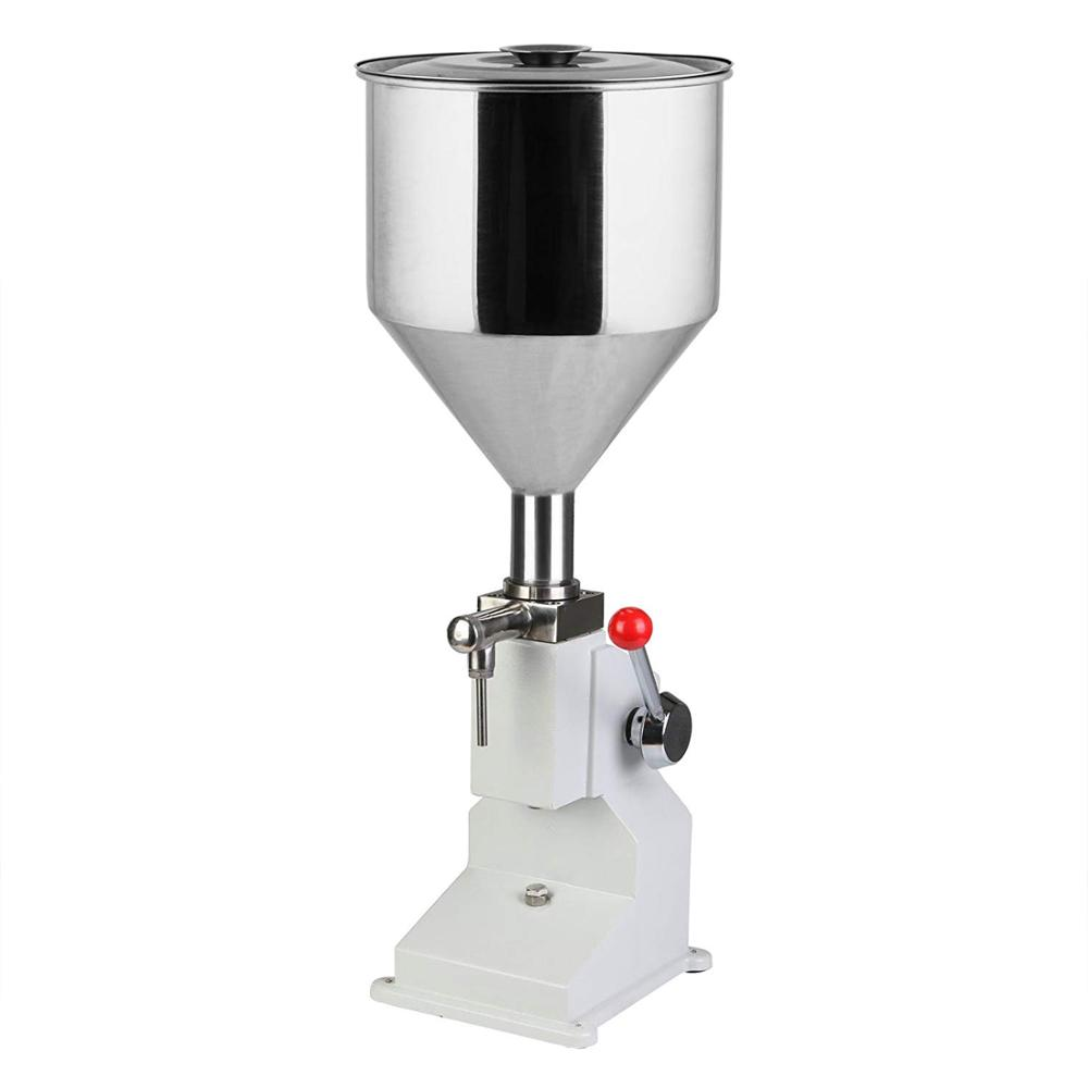 a03 Manual cream Filling Machine for cosmetic paste oil ice and liquid 0~50ml For Cream & Shampoo & Cosmetic