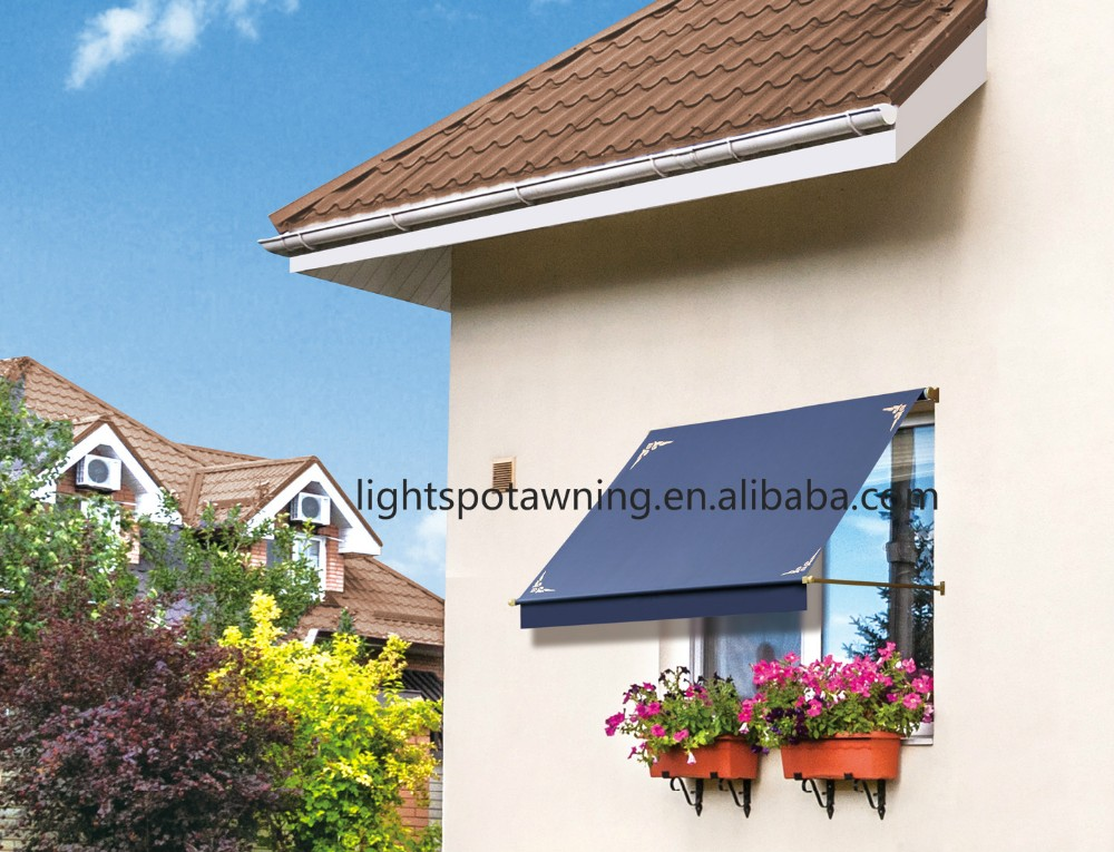 Small Cheap Aluminum Window Collapsible Awning Patio