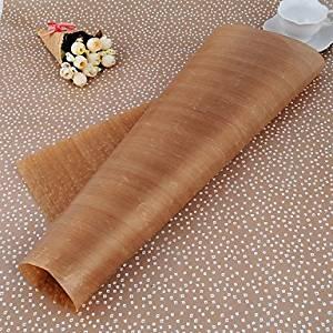 QINF 60CM*40CM*0.013CM 1Pcs High Temperature Resistant Cloth No Sticky Oilcloth Resistant 40CM*60CM