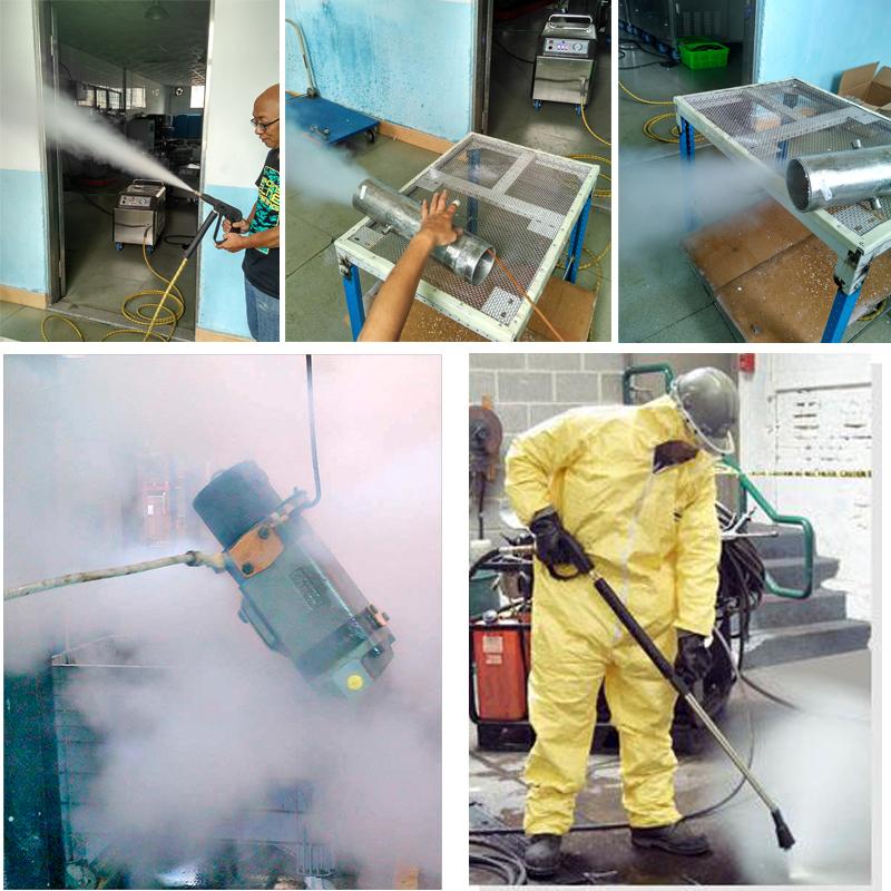 industrial steam cleaner machine