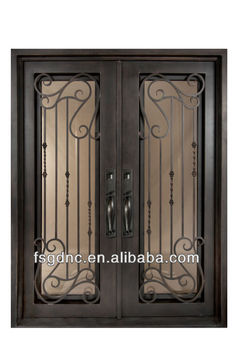 Safety Residential Flat Top Iron Door Design Buy Safety