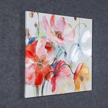 Hand Paint Abstract Colorful Images Abstract Art Oil Painting Canvas,Artistic Impressions Paintings