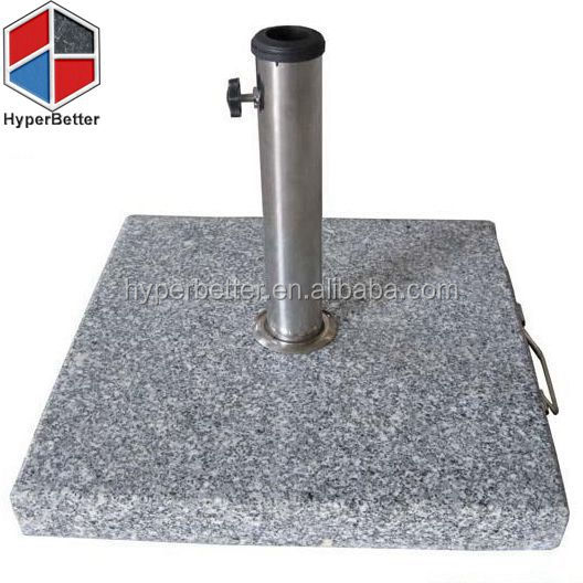 40kgs square granite garden umbrella stand