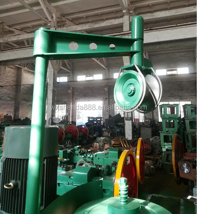 High Speed High Carbon Automatic Copper Steel Nail Wire Drawing Machine Price for Annealing