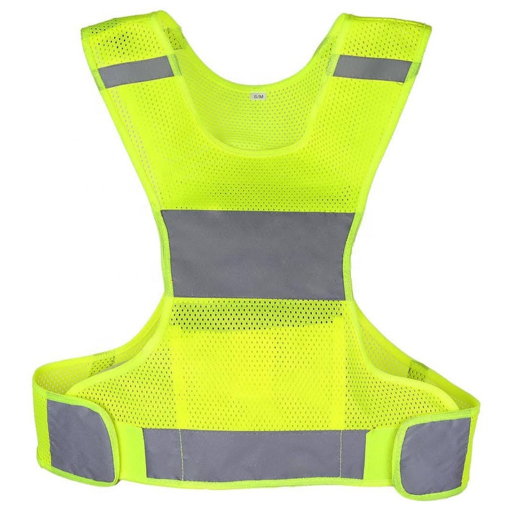 The sports gear of reflective safety vest, reflective vest running.