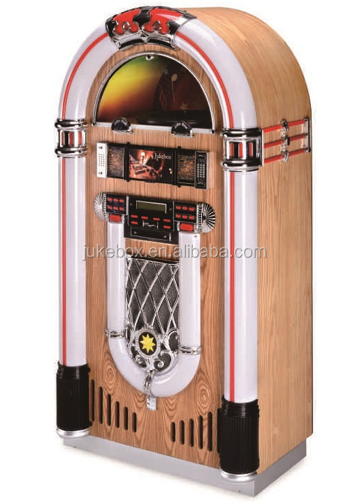 r tro commerciale jukebox lecteur platine disque vendre restaurant bar quipement cd. Black Bedroom Furniture Sets. Home Design Ideas