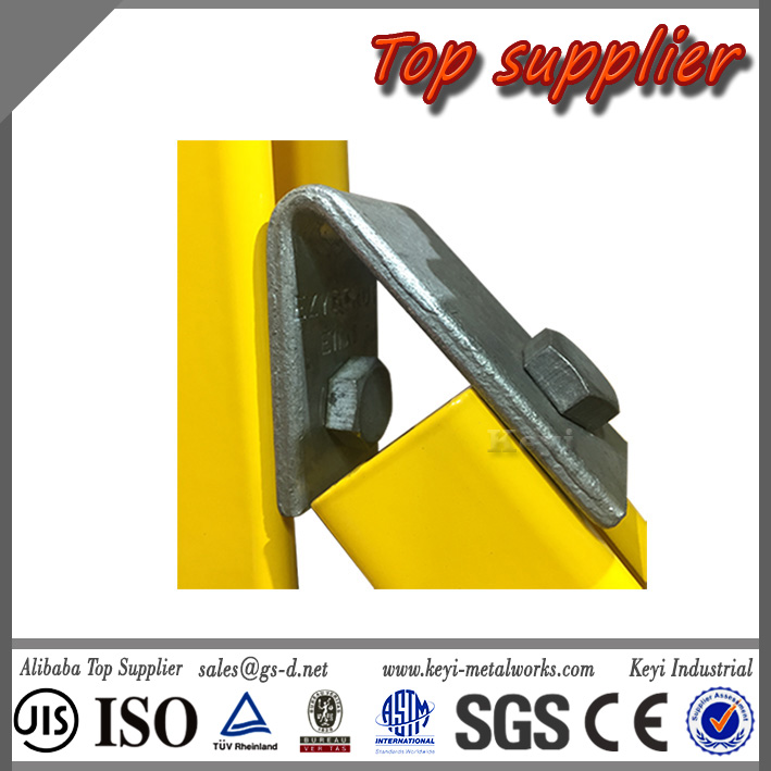 Sheet Metal Fabrication Steel Bracket 30 degree Angle Bracket