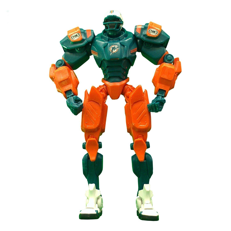 "Miami Dolphins 10"" Team Cleatus FOX Robot Action Figure Version 2.0"