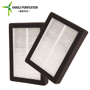 Guangzhou cheap car painting hepa air filter, cabin pleated air purifier hepa air filter