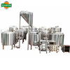 craft 500 liters electric brewery equipment for two vessels brewhouse