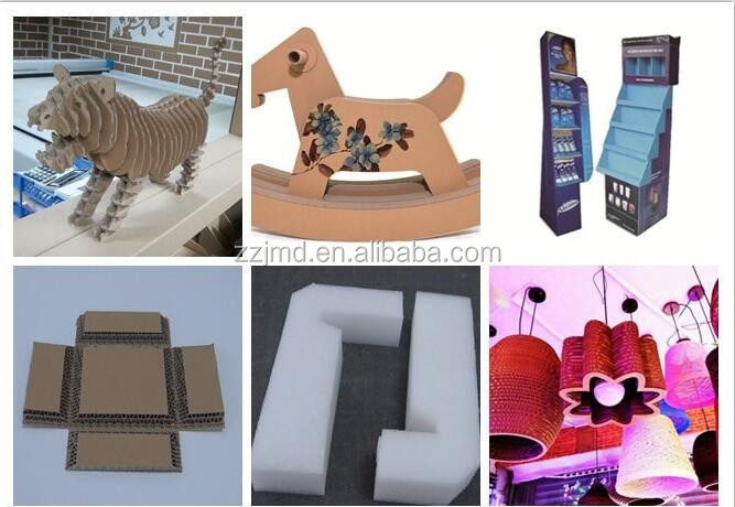 Corrugated cardboard cutter/Paperboard cutting machine/Carton box maker