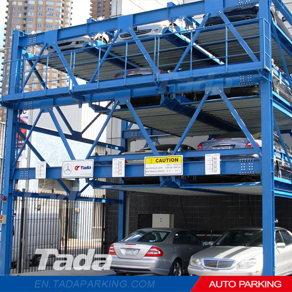 PSH four layers high quality puzzle cheap mechanical car parking system