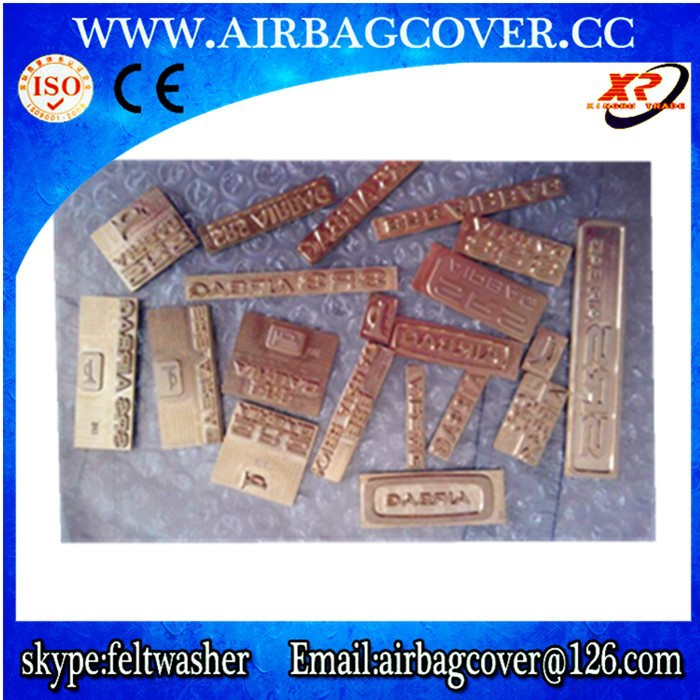 Car SRS Airbag Brass Stamp / Dashboard Brass Airbag Stamps