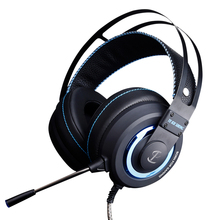 Miglior Computer Wired Gaming Headset Con Microfono Mic HA CONDOTTO la luce per PC