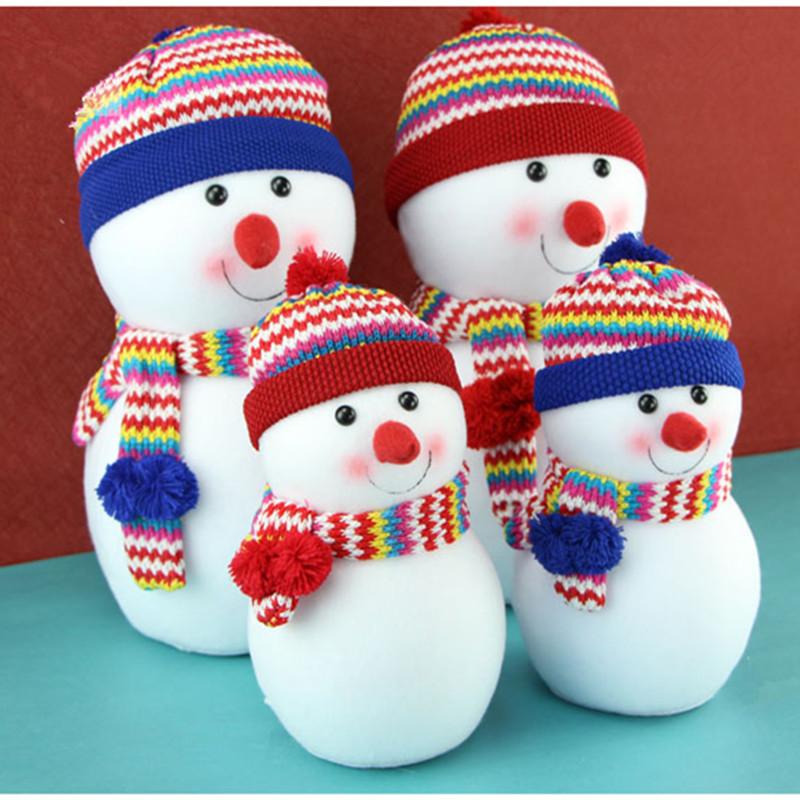 Christmas snowman doll Christmas gift christmas decoration christmas tree decoration christmas snowman Large