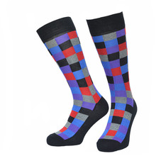 GSM-1413 Mid-calf custom dress knitted socks man's business socks make your own designs socks