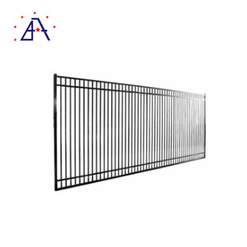 Flat Top Powder Coated Aluminium Corrugated Metal Fence Panels For Pool -  Buy Corrugated Metal Fence Panels,Aluminium Fence Panels,Metal Fences  Panels
