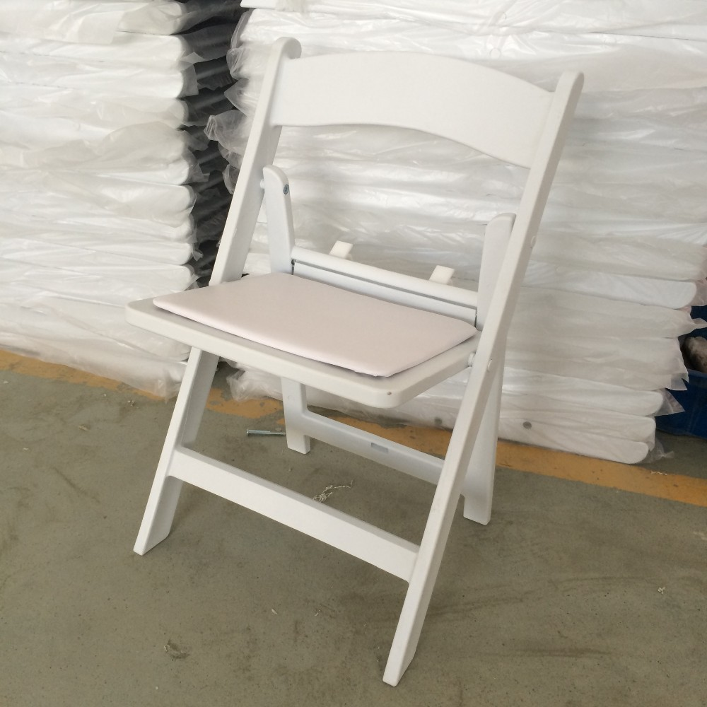Buy Cheap Chairs: Wholesale Cheap Wedding Chairs/white Wood Folding Chair