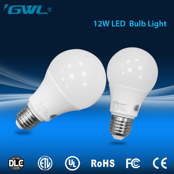 Highest level LED Lighting 12w e 26, long lifetime Commercial 12 watt led bulb 220v e27