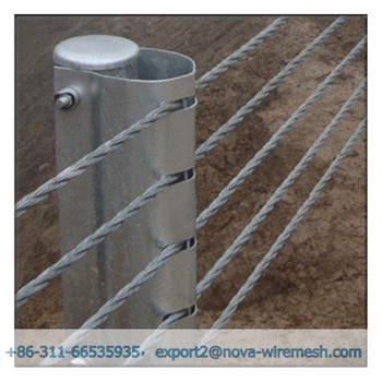 how to build a cable fence