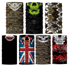 Wholesale Multifunctional Custom Seamless Headwear Tube Polyester Bandana