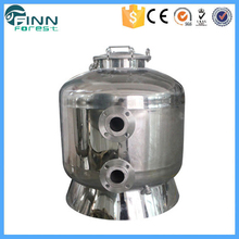 Swimming pool stainless steel filter machine with multiport valve
