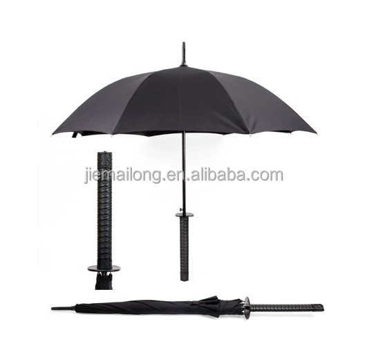 sword umbrella/samurai umbrella/katana umbrella particular innovative automatic straight sword shaped umbrella