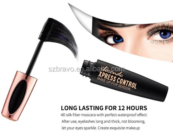 b5855daf912 New Fashion 4D Black Mascara Brand Makeup Super Volume Curling Thick Eye  Lash Waterproof Mascara