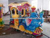 super supplier amusement park mini train rides, playground rides elephant mini train for kids