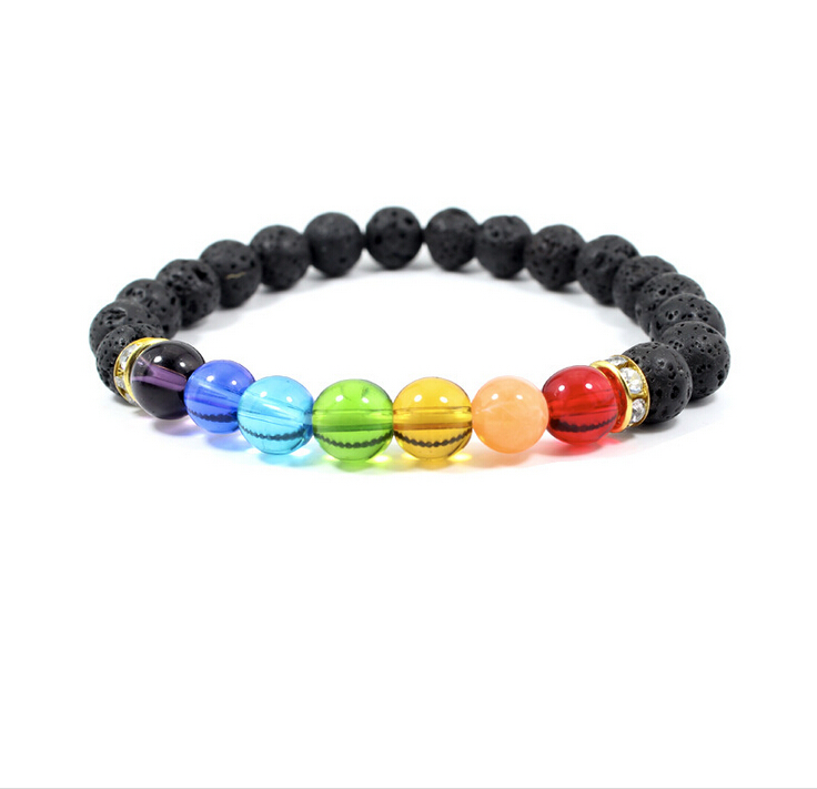 2016 trending products handmade colors bead yoga bracelet