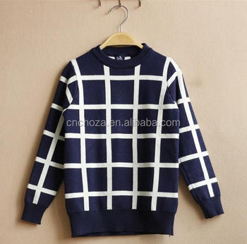 Z52353B China comfortable kid baby sweater design child knitted sweater