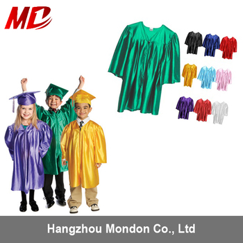 disposable Shiny finish kindergarten/kids graduation caps and gowns  sc 1 st  Alibaba & Disposable Shiny Finish Kindergarten/kids Graduation Caps And Gowns ...