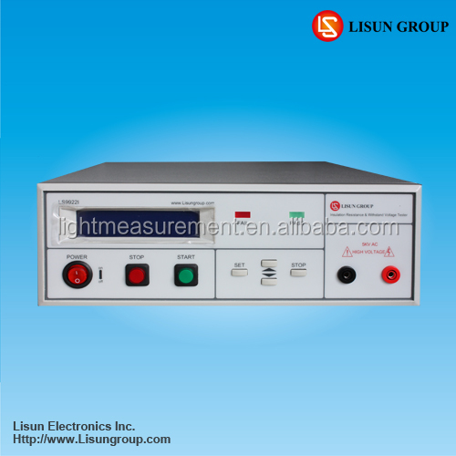LS9922I Withstanding Voltage and 5kv hipot tester in testing instrument is widely used in lab test