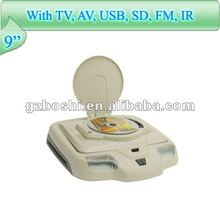 "cheap made in china 9"" car overhead dvd player"