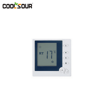 Coolsour Floor Heating / Water Heating System LCD Display Programmable Room thermostat