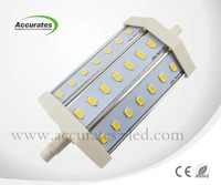Energy-saving 10W smd5730 R7S LED Lights plastic pool covers rail lamp