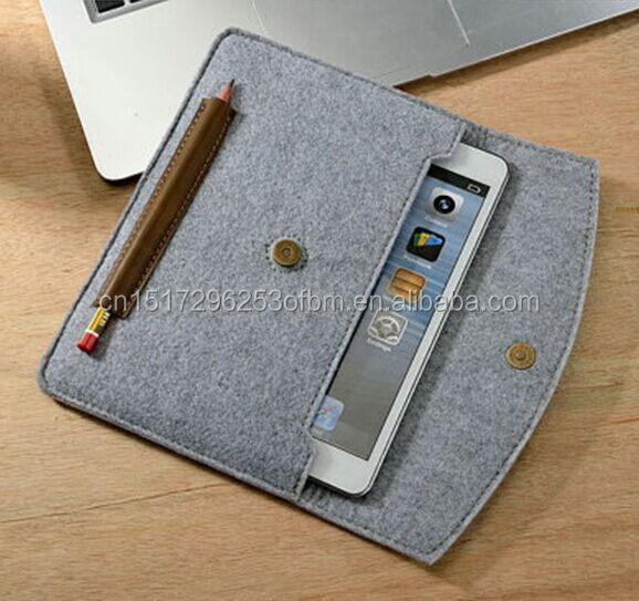 Felt bags mini bags for Ipad Laptop Soft Case Sleeve Bag For
