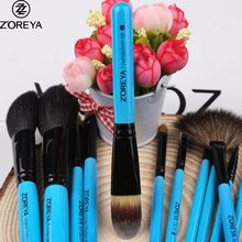 High end custom logo personalized makeup brush sets