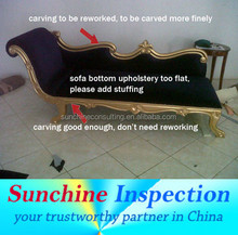 Professional Inspection Services for all kinds of Furniture in China / Indonesia / India / Vietnam and Turkey