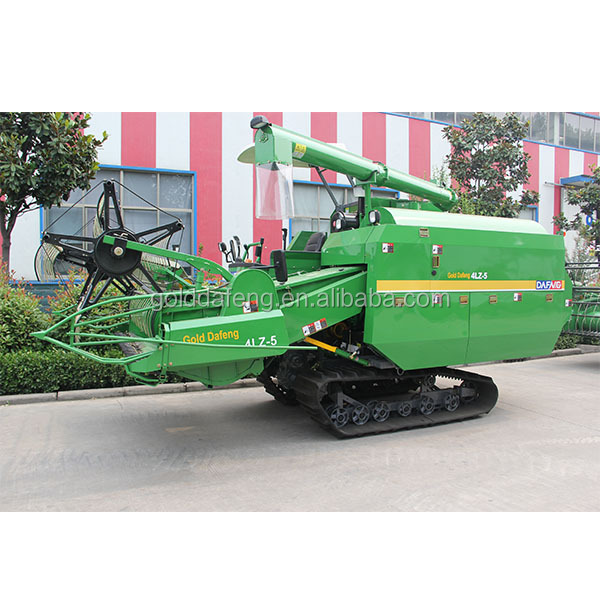 China Gold DaFeng Agricultural machinery equipment rice & wheat combine harvester